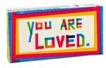 YOU ARE LOVED GUM 8pc