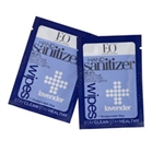 EO Hand Sanitizer Wipes - Lavender Singles