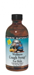 Source Naturals Wellness Cough Syrup for Kids 4oz