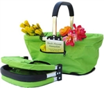 Collapsible Market Basket - Green