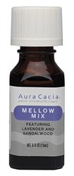"Aura Cacia - ""Mellow Mix""  Essential Oils 0.5oz"