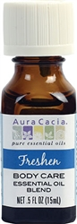 Aura Cacia - Freshen Body Care Essential Oil Blend 0.5 oz