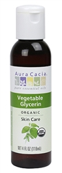 Aura Cacia - Organic Vegetable Glycerin - 4 fl oz