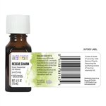 Aura Cacia Rescue Charm Essential Oil 0.5 fl. oz.