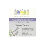 Aura Cacia Aromatherapy Shower Tablets - Relaxing Lavender