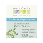 Aura Cacia Aromatherapy Shower Tablets - Reviving Peppermint