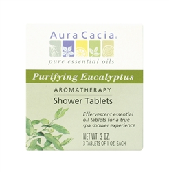 Aura Cacia Aromatherapy Shower Tablets - Purifying Eucalyptus