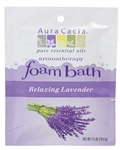 Aura Cacia Relaxing Lavender Foam Bath 2.5 oz.