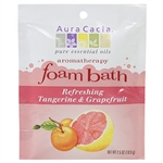 Aura Cacia Refreshing Tangerine & Grapefruit Foam Bath 2.5 oz.