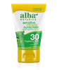 Alba Botanica's-  Sensitive Mineral Sunscreen Fragrance Free Lotion SPF 30