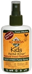 Kid's Herbal Armor Spray 4oz Insect Repellent