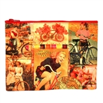 Bicycle Traveler Zipper Pouch