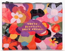 You're Beautiful Zipper Pouch