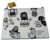 BEARDS ZIPPER POUCH