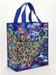 PEACOCK HANDY TOTE by BLUE Q