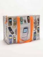 CELL PHONES SHOULDER TOTE by BLUE Q