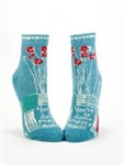 You're So Damn Pretty W-Ankle Socks By Blue Q