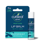 Curaleaf Hemp Restore Lip Balm with 15mg of CBD
