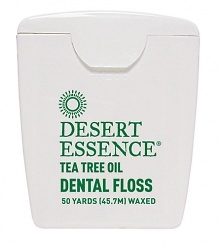 Desert Essence- Dental Tape with Tea Tree Oil