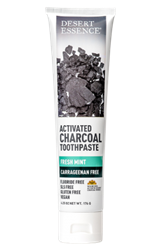 Desert Essence - Activated Charcoal Toothpaste