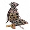 Paw Print Draw String Bag - 4 x 6