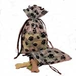 Paw Print Draw String Bag