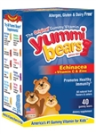 Hero Nutritionals Yummi Bears Echinacea + Vitamin C & Zinc 40 Gummies