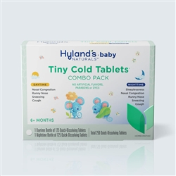 Hyland's Baby Tiny Cold Tablets Day & Nighttime Value Pack 250tabs