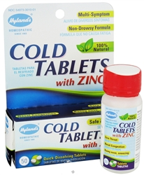 Hyland's- Cold Tablets with Zinc