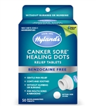 Hyland's - Canker Sore Healing Dots 50 tab