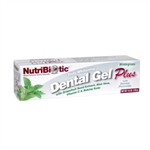 NutriBiotic -Whitening Dental Gel Plus 4.5 oz
