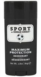 Herban Cowboy - Deodorant Maximum Protection Sport - 2.8 oz.
