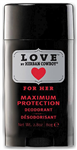 Herban Cowboy Maximum Protection Deodorant, Love, 2.8 oz