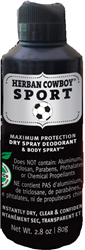 Herban Cowboy - Max. Protection Dry Spray Deodorant - SPORT