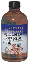 Planetary Herbals Loquat Respiratory Syrup for Kids 4oz