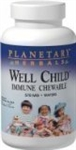 Planetary Herbals Well Child Immune Chewable 60 wafers