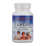Planetary Herbals Calm Child 72tabs