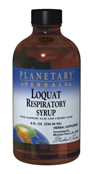 Planetary Herbals Loquat Respiratory Syrup 8oz