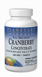 "Planetary Herbals Cranberry Concentrate, Full Spectrumâ""¢ 90 Tablets"