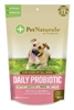 Daily Probiotics for Dogs by Pet Naturals of Vermont 60 Chews