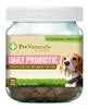 Daily Probiotics for Dogs by Pet Naturals of Vermont 70 Chews