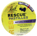 Rescue Pastilles - Black Currant Flavor