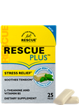 Rescue PLUS Gum - Fresh Mint - 25 Pieces