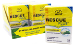 Rescue Gum Display - Spearmint - 25 Pieces - 10 pack