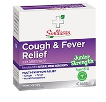 Jr. Strenght Cough & Fever Relief by Similasan 40 tab