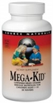 Source Naturals MEGA-Kid Chewable Multi-Vitamin 120 wafers