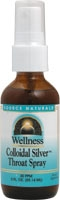 Source Naturals Wellness Collodial Silver Throat Spray 30ppm (2fl.oz.)
