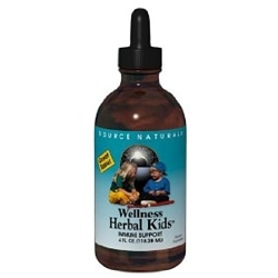 Source Naturals Wellness Herbal Kids Liquid 8oz