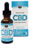 CBD Oil- Non-Hemp Derived Liquid 1oz - 725mg CBD Oil  - SourcePure (Best Before AUG 2021)
