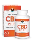 CBD RELIEF - Non-Hemp Derived CBD Oil 60 vc - SourcePure